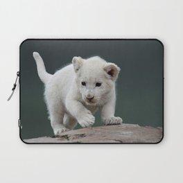 White lion cub Laptop Sleeve