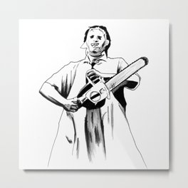 You Damn Fool, You Ruined The Door! Metal Print