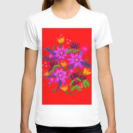Orange Violets T-shirt