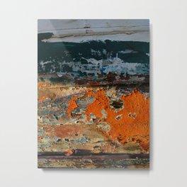 Painted Boat Metal Print