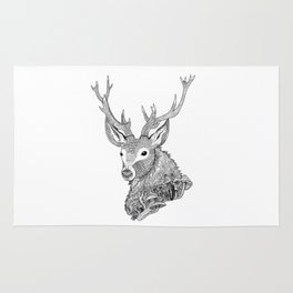 Forest Stag Rug