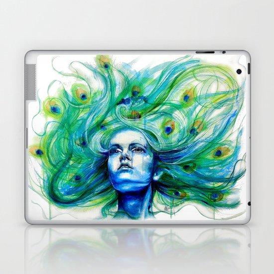 Metamorphosis-peacock Laptop & iPad Skin