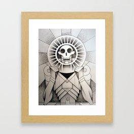 Mictlantecihuatl (Aztec Lady of the Dead) Framed Art Print