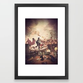 'Television' Framed Art Print