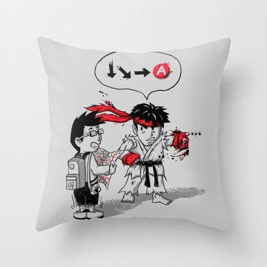 Hadoken? Throw Pillow