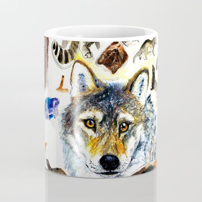 Animal collage  (c) 2017 Coffee Mug