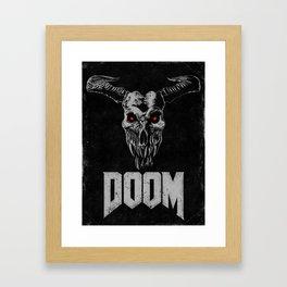Doom - Icon of Sin Framed Art Print
