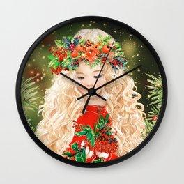 Little Merry Wall Clock