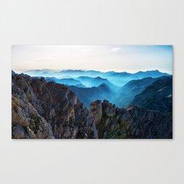 Mountains Breathe Too Canvas Print