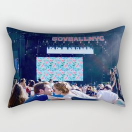 Lovers at GovBallNYC Rectangular Pillow