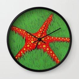 Poison Moon Wall Clock