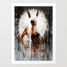 Velveteen Art Print