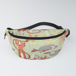 Rain forest animals 004 Fanny Pack