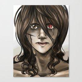 Portrait of Uzuki  Canvas Print