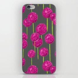 Allium - Pink iPhone Skin