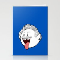boob Stationery Cards featuring Boo Einstein by Olechka