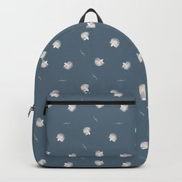 White Fish Fine Pattern Backpack