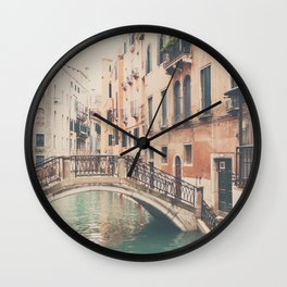 wandering the streets of Venice ... Wall Clock