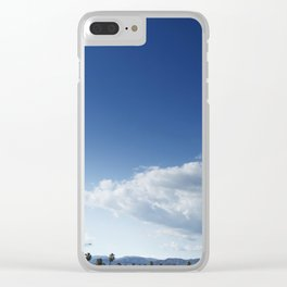 Cloud Ship Clear iPhone Case
