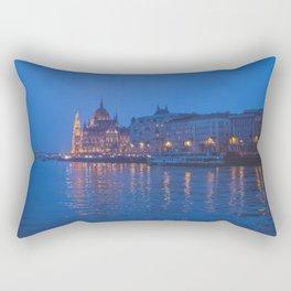 The parliament in Budapest. Rectangular Pillow