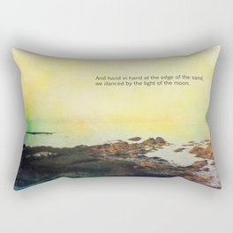 At the Edge of the Sea Rectangular Pillow