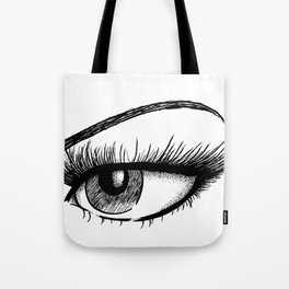 Sultry Eye Tote Bag