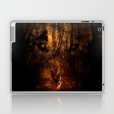 wolves in the forest ## Laptop & iPad Skin