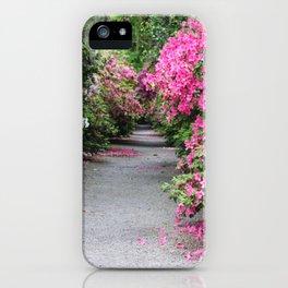 Springtime Azaleas at Magnolia Plantation iPhone Case