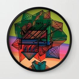"""Exploration Hives"" Wall Clock"