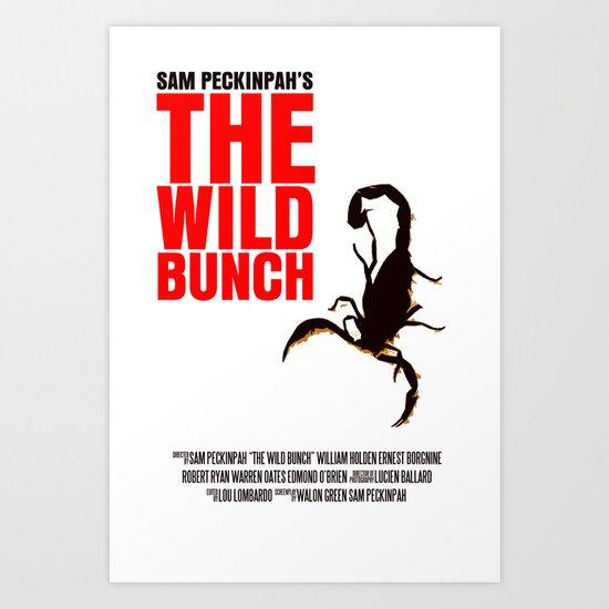 The Wild Bunch Movie Poster Art Print