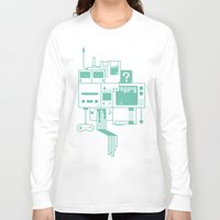 video games Long Sleeve T-shirts featuring Video Games by Isra