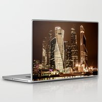 moscow Laptop & iPad Skins featuring Moscow city by Vlad&Lyubov