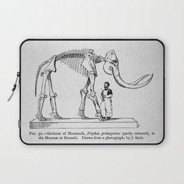 Vintage Dinosaur Poster, 1896 (Mammoth) Laptop Sleeve