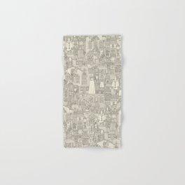 vintage halloween drab ivory Hand & Bath Towel