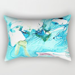 So Cold, This Ice Rectangular Pillow