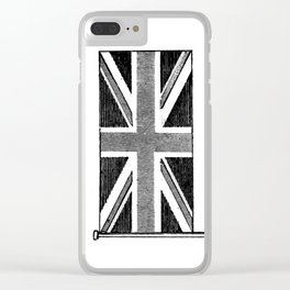 Union Jack Clear iPhone Case