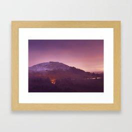 Cold Winters Night Framed Art Print