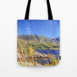 Exploring the Fjord Tote Bag