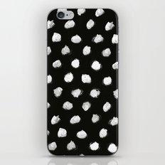 White Dots Pattern iPhone & iPod Skin