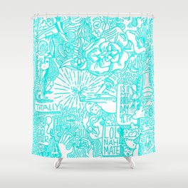 Free Form Shower Curtain