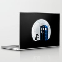 et Laptop & iPad Skins featuring Doctor ET by le.duc
