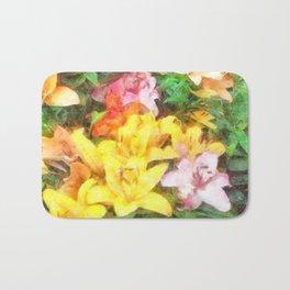Lilies Love and Light Bath Mat