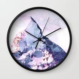 The Crystal Peak Wall Clock
