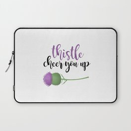 Thistle Cheer You Up Laptop Sleeve
