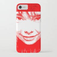 bjork iPhone & iPod Cases featuring BJORK by Andhika Tile