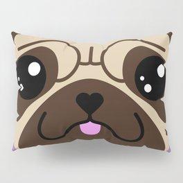 VITO the pug (Chibipalz) Pillow Sham