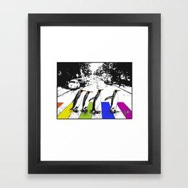 Penguin Pride Framed Art Print
