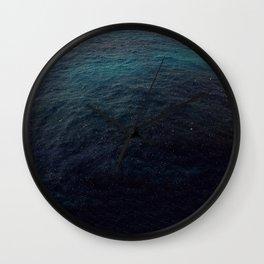 Negril Rain Fall Over Sea | 2009 Wall Clock