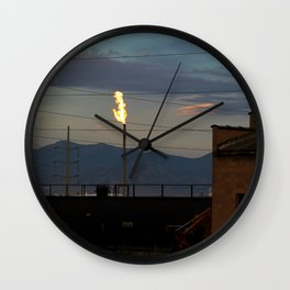 Morning Flame Wall Clock