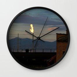Morning Flame Wall Clock